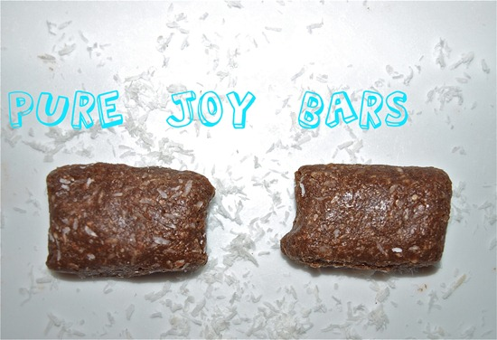 Pure Joy Bars