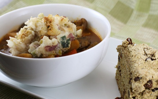 Vegan Irish Stew with Colcannon and Soad Bread