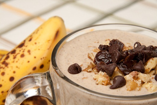 sleepy banana muffin smoothie5   Recipe Link Love, March 13