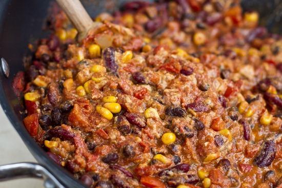 IMG 4625   Taco Chili with Nacho Cheeze Sauce