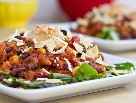 IMG 4635   Taco Chili with Nacho Cheeze Sauce