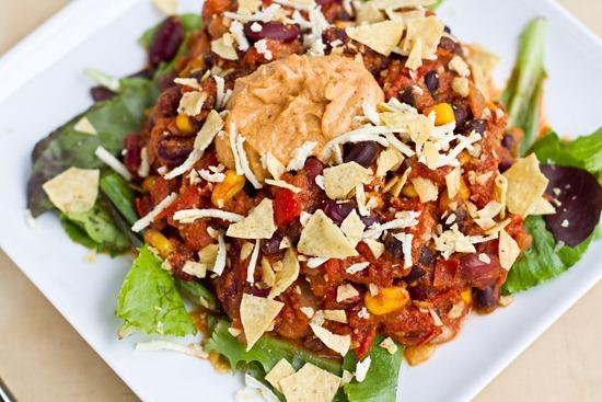 IMG 4643   Taco Chili with Nacho Cheeze Sauce