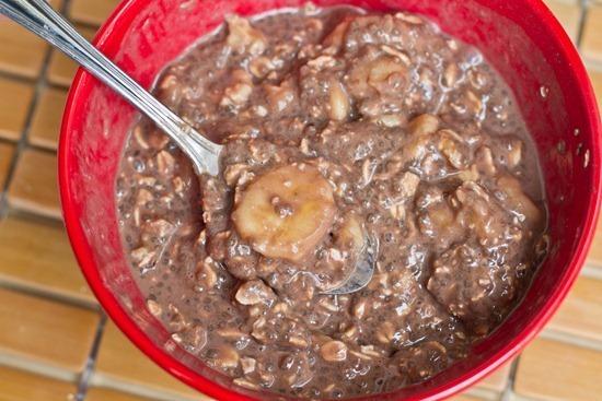 IMG 0235 thumb   Mango Breakfast Parfait with Cherry Banana Soft Serve