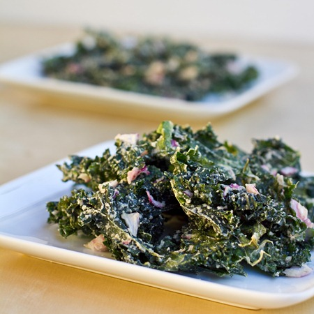 IMG 6002   Sour Cream and Onion Kale Chips