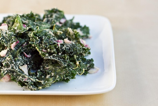 IMG 6005   Sour Cream and Onion Kale Chips