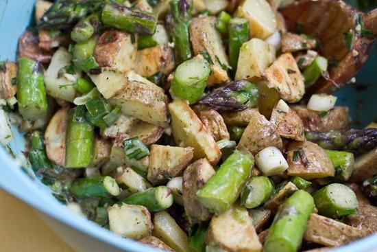 IMG 6191   Asparagus and Potato Salad