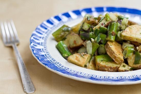 IMG 6201   Asparagus and Potato Salad