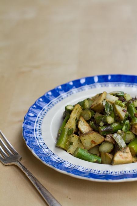 IMG 6210   Asparagus and Potato Salad