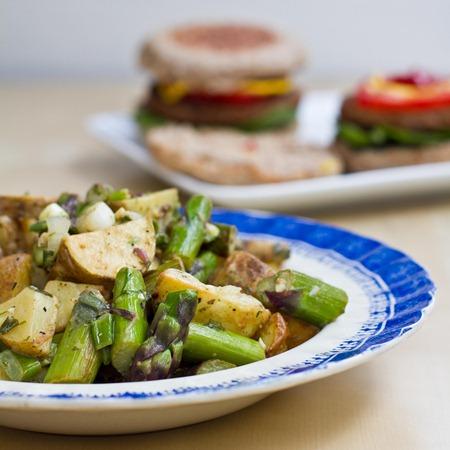 IMG 6222   Asparagus and Potato Salad