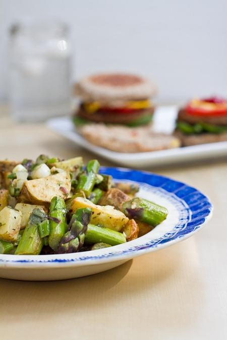 IMG 6224   Asparagus and Potato Salad