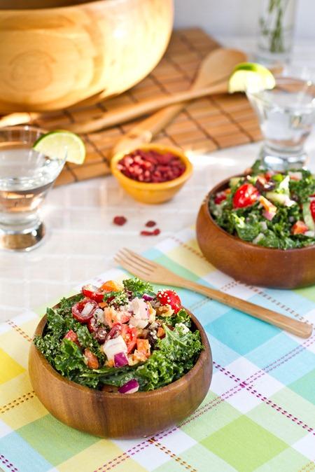 Weekend Glow Kale Salad — Oh She Glows