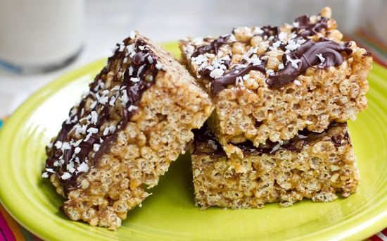 Almond butter rice crisp treats oh she glows img7910 ccuart Choice Image