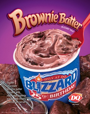 Double Chocolate Brownie Dough Blizzard Oh She Glows