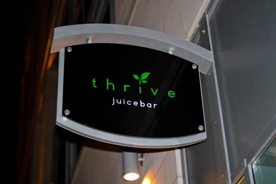 IMG 0569 thumb   Birthday Fun at Thrive Juice Bar