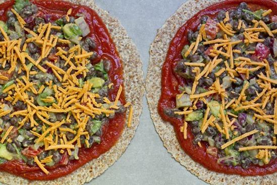 IMG 0767 thumb   High Protein Tortilla Pizzas