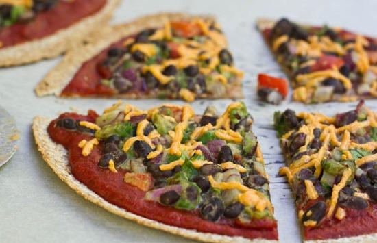 IMG 0779 thumb   High Protein Tortilla Pizzas