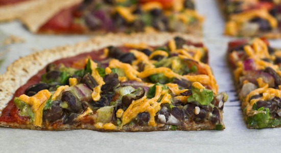 IMG 0781 2 thumb1   High Protein Tortilla Pizzas