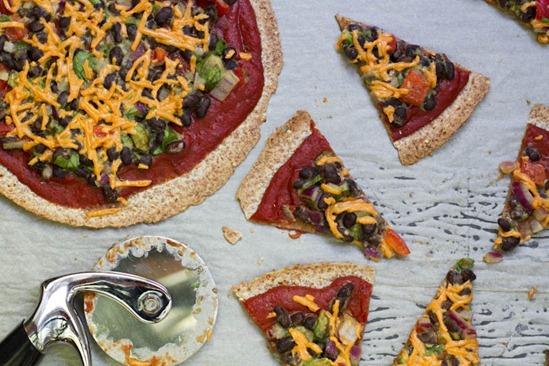 IMG 0782 thumb1   High Protein Tortilla Pizzas