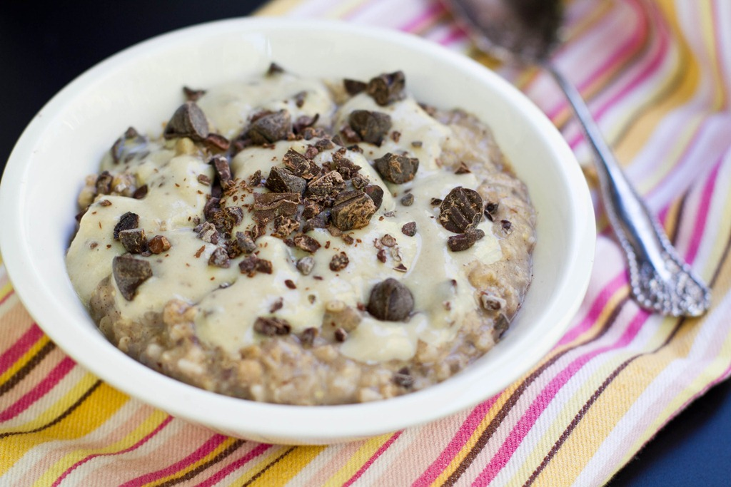 Make ahead steel cut oatmeal 4 new oatmeal recipes oh she glows you wouldnt know it from the plethora of steel cut oatmeal recipes i have on the blog one but steel cut oats are actually my favourite way to enjoy ccuart Image collections