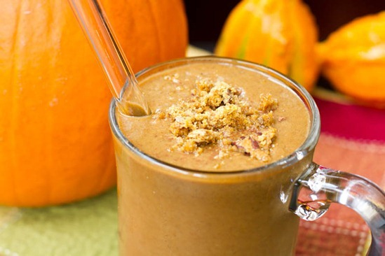 IMG 3316 thumb   Pumpkin Gingerbread Smoothie