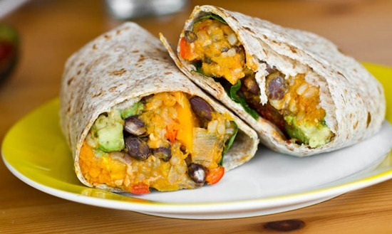 IMG 3749 thumb   Black Bean and Butternut Squash Burritos