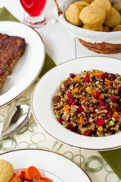 IMG 4403   Vegan Holiday Dinner Ideas + A New Recipe