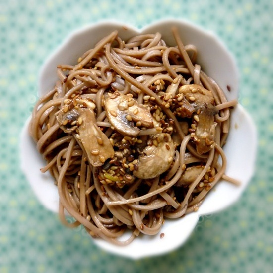 Sesame Soba Noodle Salad 055   Vegan Recipe Link Love: Nov 16