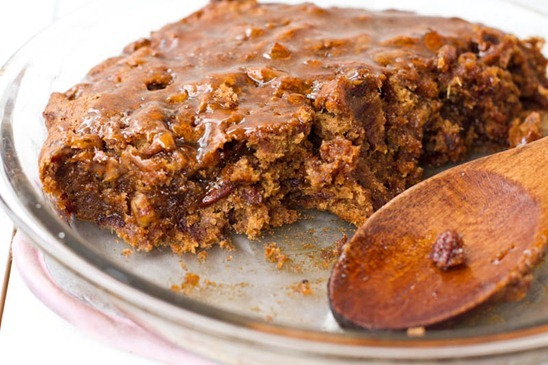 Sinless Sticky Toffee Pecan Pudding Oh She Glows
