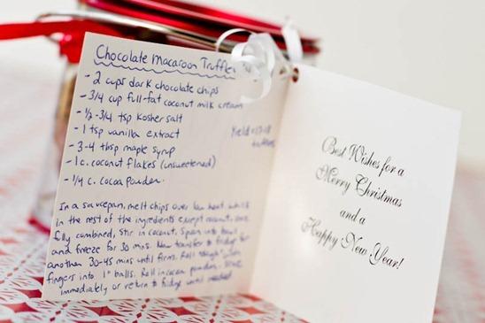 IMG 5707 2   Easy Holiday Gift: Vegan Chocolate Macaroon Truffles