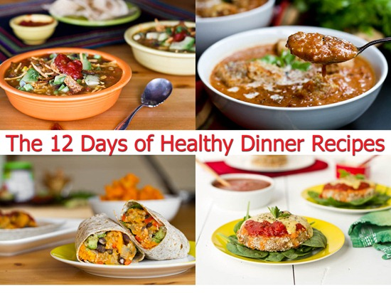 The 12 Days Of Healthy Dinner Recipes Oh She Glows