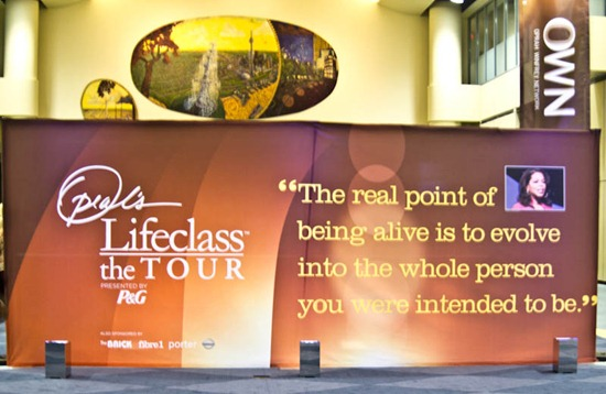 IMG 3095   Lessons from Oprah's Lifeclass in Toronto: Part 1