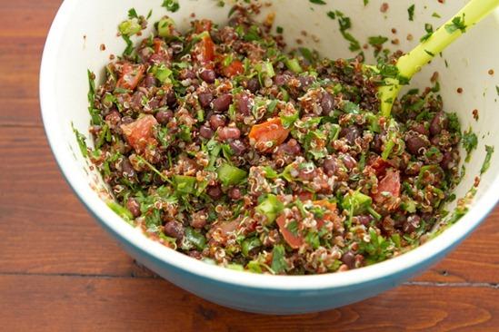 Adzuki Bean & Quinoa Tabbouleh Salad with a Twist — Oh She Glows