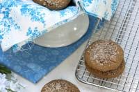 Almond Garbanzo Flour Cookies-gluten free