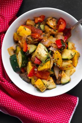 Ratatouille-Inspired Summer Veggie Dish – Oh She Glows
