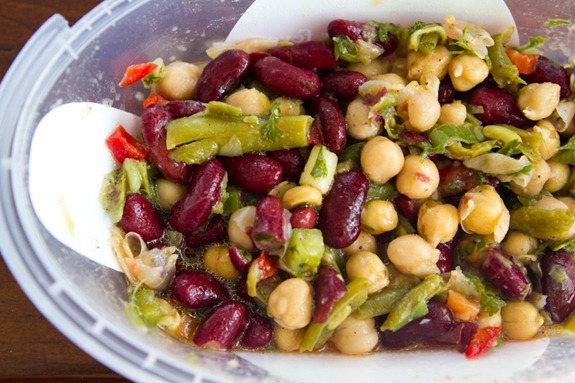 Speedy Three-Bean Salad – Oh She Glows