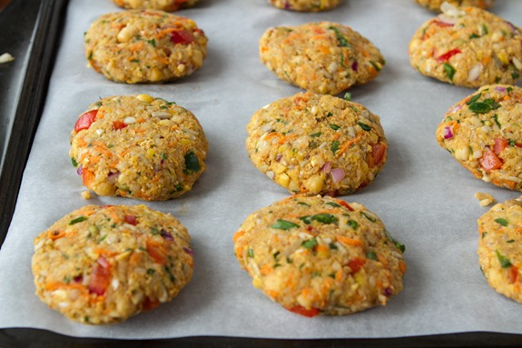 chickpea veggie burgers 3167   How To Prep and Freeze Veggie Burgers: A Tutorial