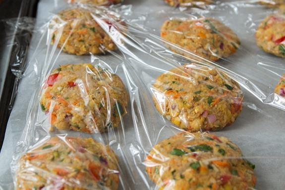 chickpea veggie burgers 3169   How To Prep and Freeze Veggie Burgers: A Tutorial