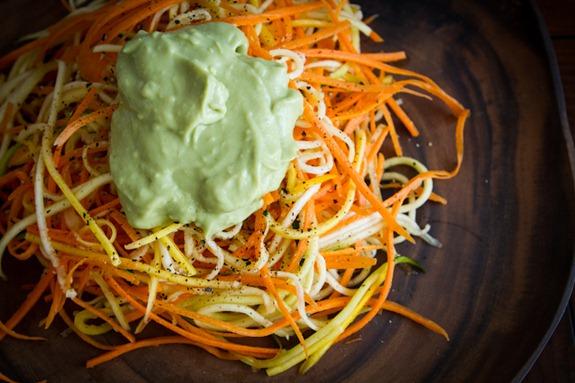 julienne peeler zucchini pasta-4352