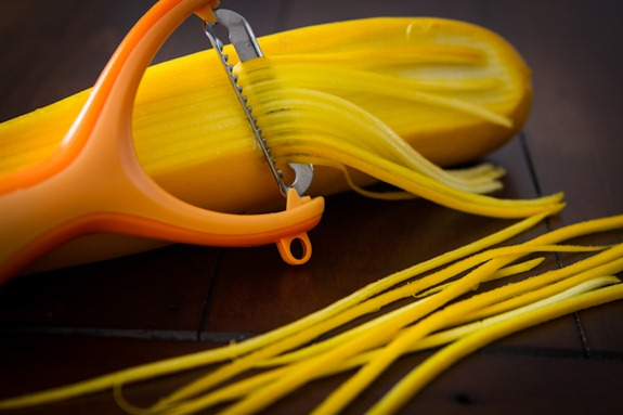 julienne peeler zucchini pasta-4442