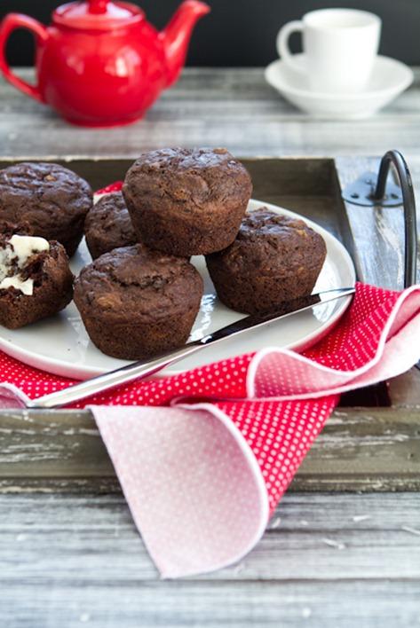 oil free vegan choclate zucchini muffins-3068
