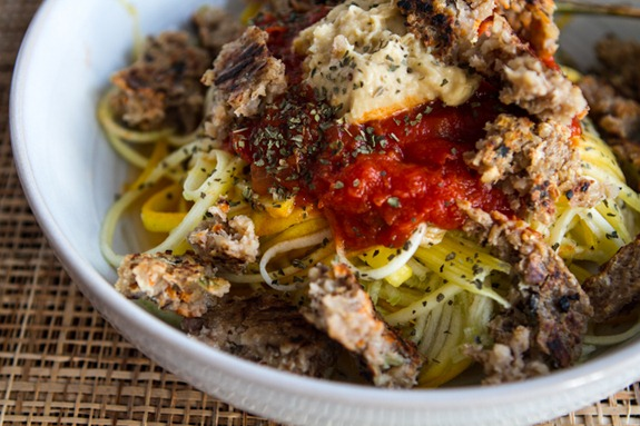 """How To Spiralize Vegetables (Without A Spiralizer!) + 2 Veggie """"Pasta"""" Dishes — Oh She Glows"""