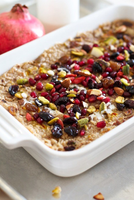 Saffron Pear Baked Oatmeal Recipe IMG 6207   7 Favourite Vegan Recipes From Family Fresh Cooking!