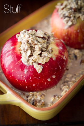Baked Apple Oatmeal-7345