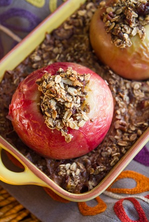 Baked Apple Oatmeal-7363