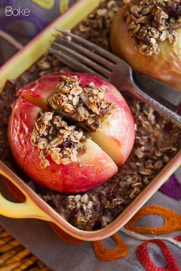 Baked Apple Oatmeal-7365