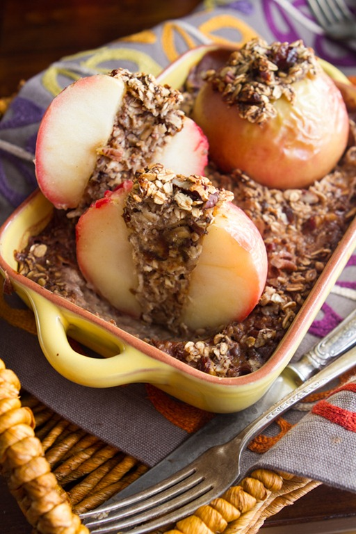 Baked Apple Oatmeal 7371 thumb Baked Apples Stuffed with Cinnamon Date ...