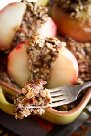 Baked Apple Oatmeal-7374