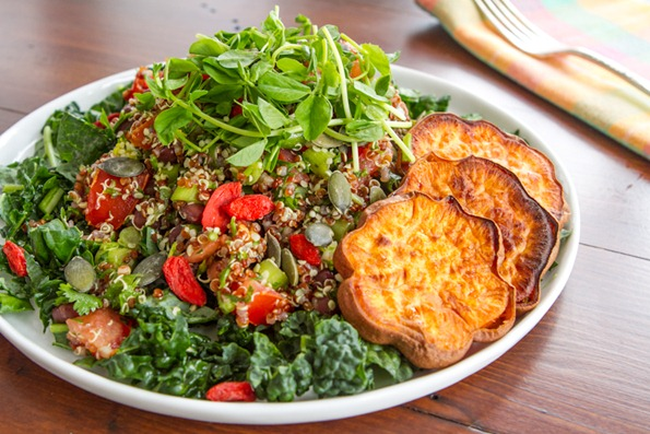 adzuki bean tabbouleh goji berries 2   10 Foods I'm Loving Lately – October Edition