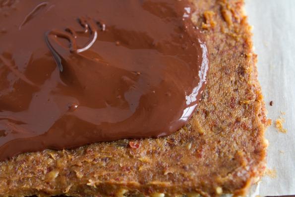 vegan peanut butter twix crispies-7445