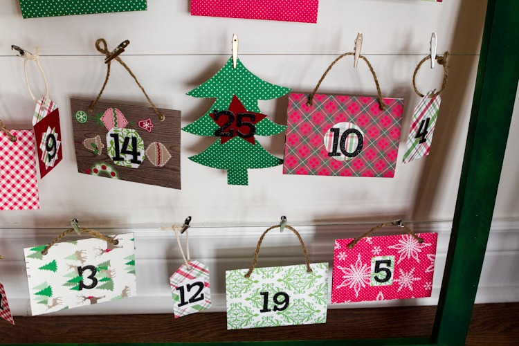 How To Make A Reusable Diy Advent Calendar Oh She Glows